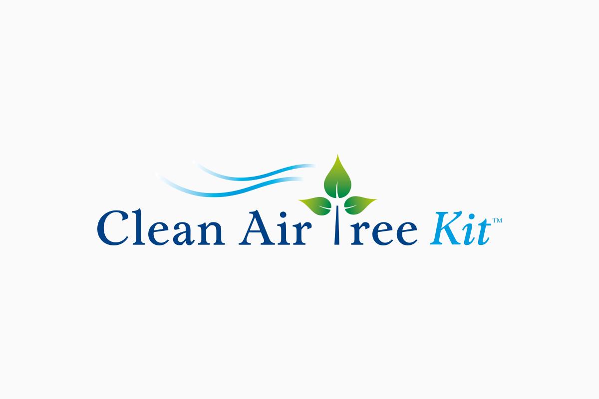 Logo. Clean Air Tree Kit