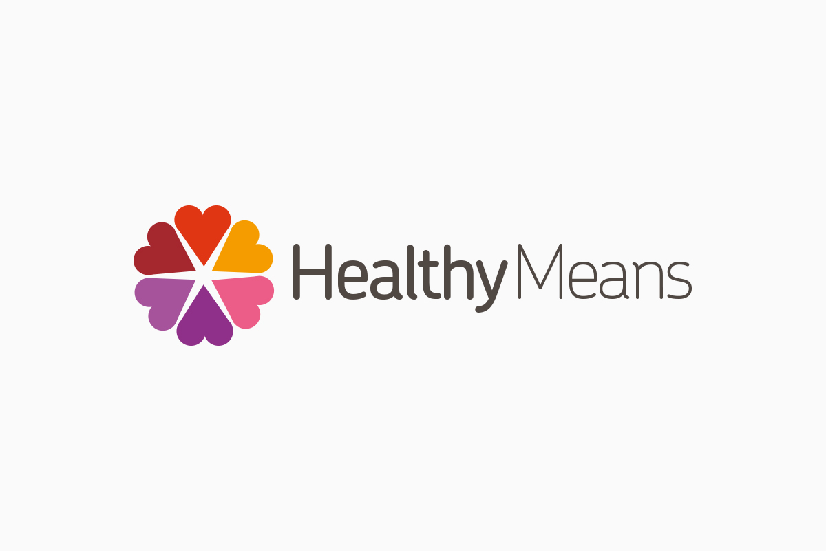 Logo proposal 1, Healthy Means