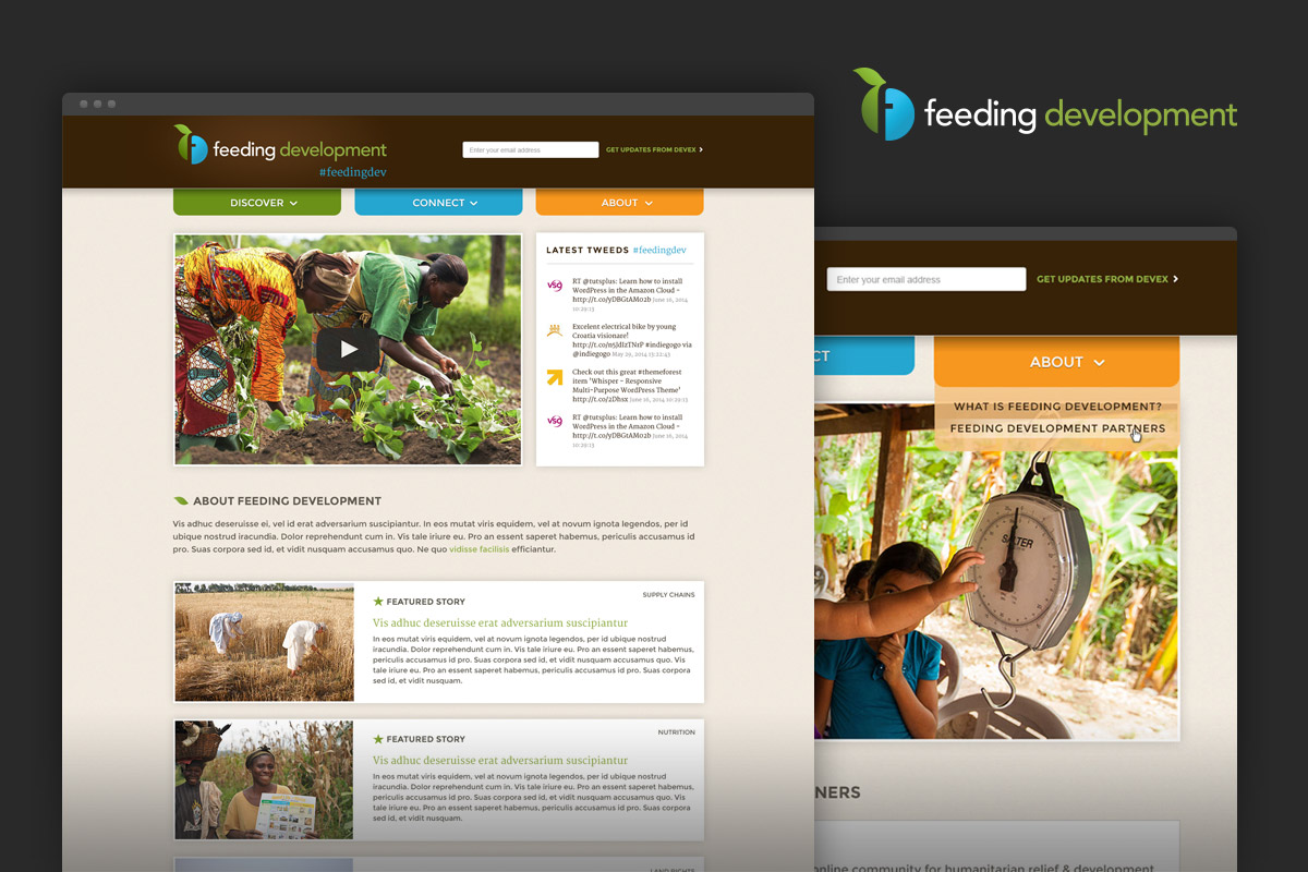 Feeding Development website