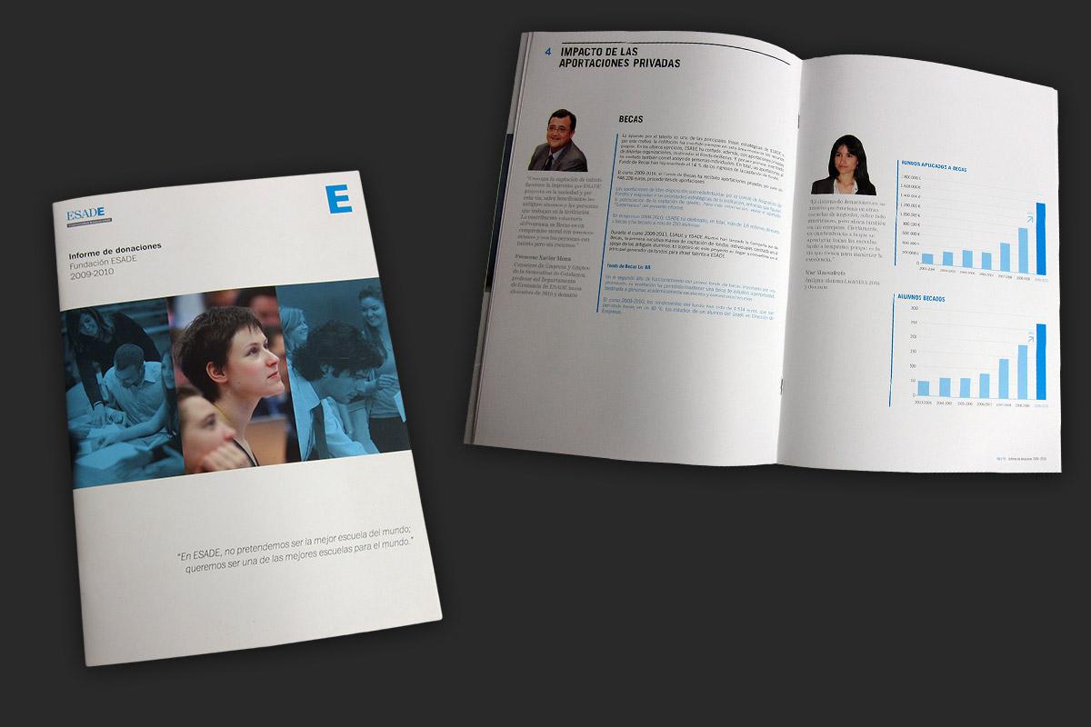 ESADE Foundation, Annual Report