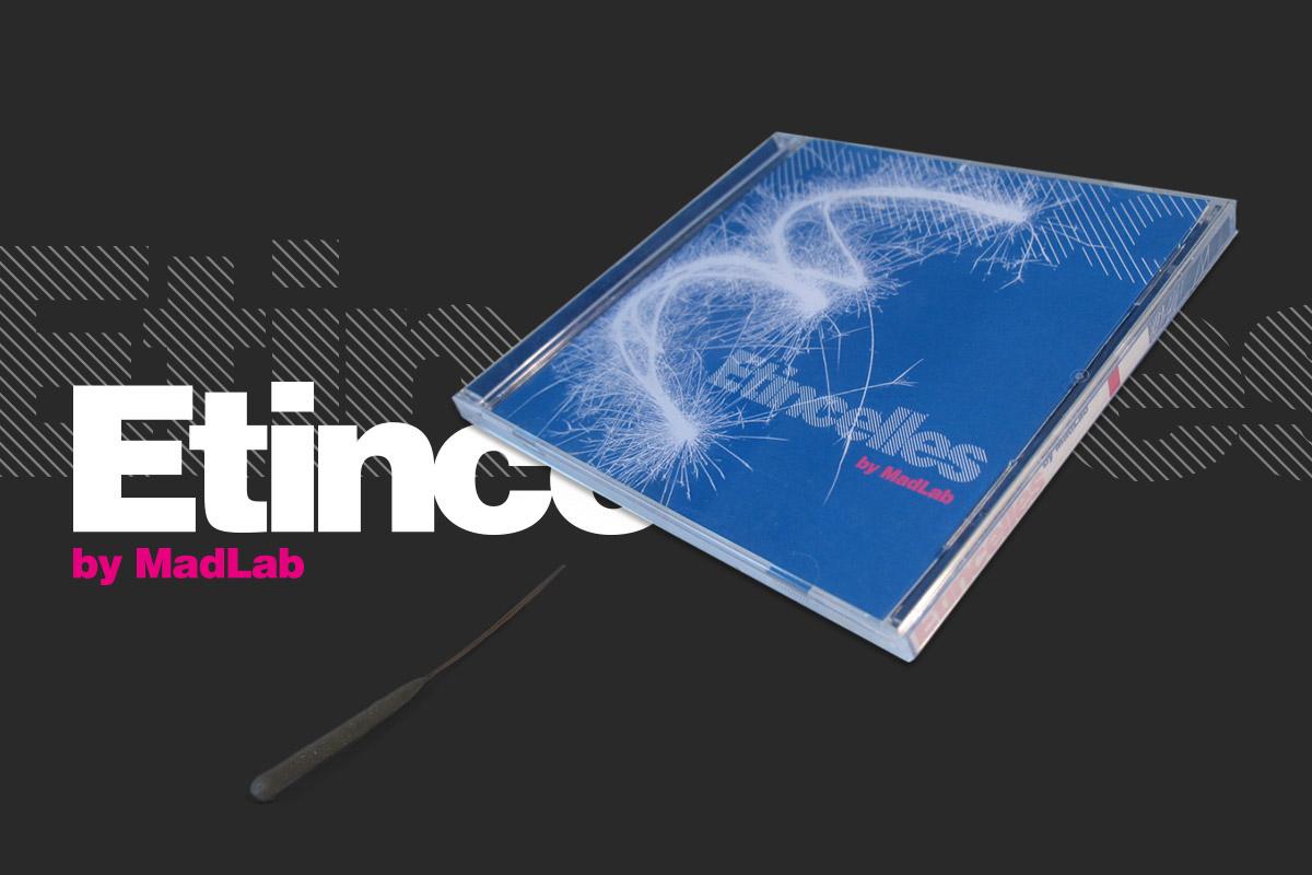 CD cover Etincelles